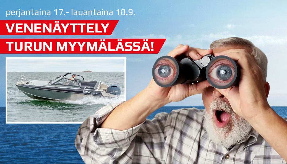 Venenäyttelyt Turussa ja Raisiossa pe 17.- la 18.9.2021
