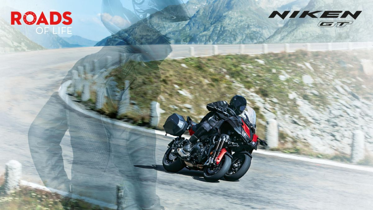 NIKEN ja NIKEN GT -moottoripyöriin rahoituskorko 0%* ilman kuluja
