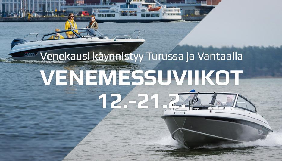 Venekausi käynnistyy Turussa ja Vantaalla 12.2.2021