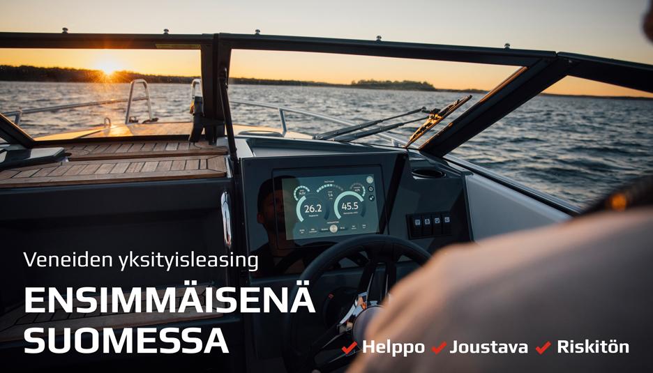 Yksityisleasing veneisiin ja moottoripyöriin
